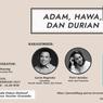 Perjalanan Seni Garin Nugroho Lewat Buku Adam, Hawa, dan Durian