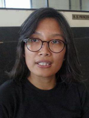 Wakil Koordinator Kontras Puri Kencana Putri saat ditemui di kantor LBH Jakarta, Menteng, Jakarta Pusat, Selasa (25/10/2016).