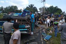 Ini Nama-nama Korban Kecelakaan Maut Bus di Riau