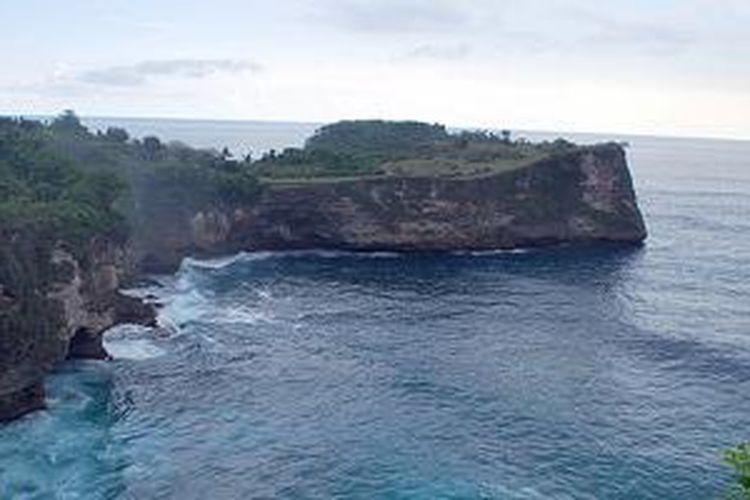 Nusa Penida di Kabupaten Klungkung, Bali.