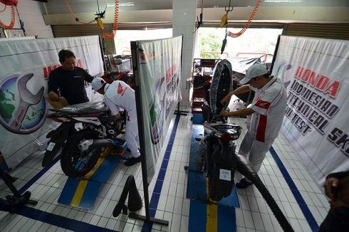 Mekanik Honda Motor Jakarta-Tangerang Adu