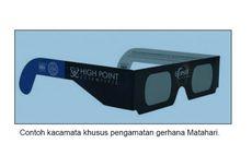 Cara Sederhana Membuat Kacamata Matahari untuk Melihat Gerhana