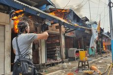 Kebakaran di Pasar Cempaka Putih, Api Diduga Berasal dari Kios Pemotongan Ayam