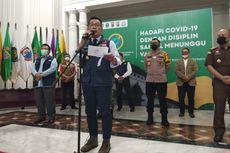 Update Terkini, Kota Bogor Satu-satunya Zona Merah di Jabar, Ridwan Kamil: PPKM Mikro Gunakan Data Lokal