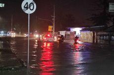 Hujan Lebat hingga Malam, Sejumlah Kawasan di Ambon Terendam Banjir