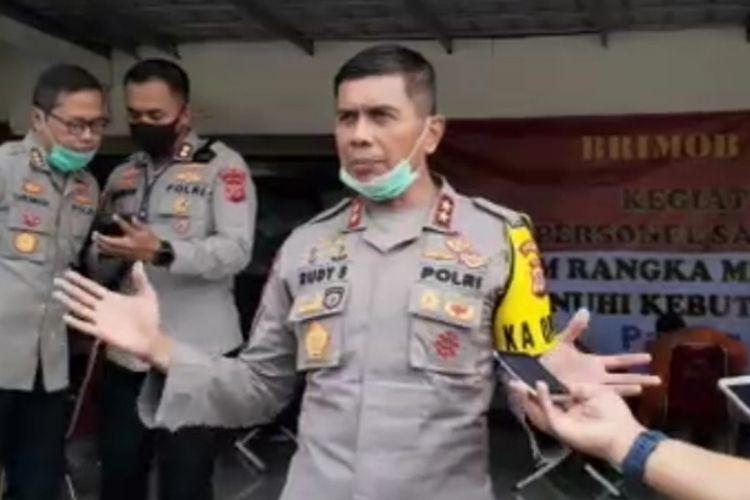 Irjen Rudy Sufahriadi saat masih menjabat sebagai Kapolda Jabar Irjen Rudy Sufahriadi.
