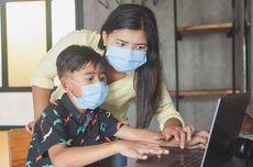 Tips bagi Orangtua Atasi Stres Saat Dampingi Anak Belajar Online