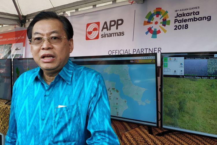 Managing Director Sinar Mas G. Sulistiyanto