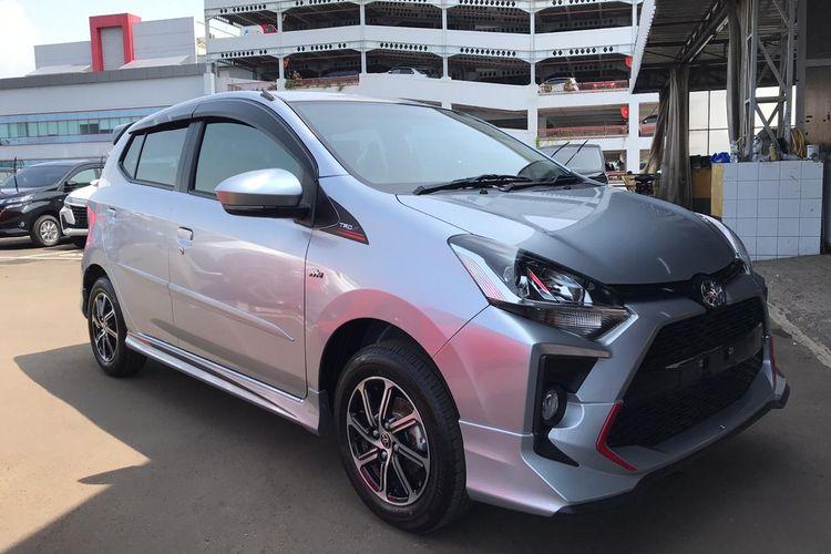 Toyota Agya facelift remsi diluncurkan pada Kamis (19/3/2020).
