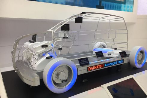 Tanpa Produk Baru, Daihatsu Andalkan MPV Hybrid di GIIAS 2019