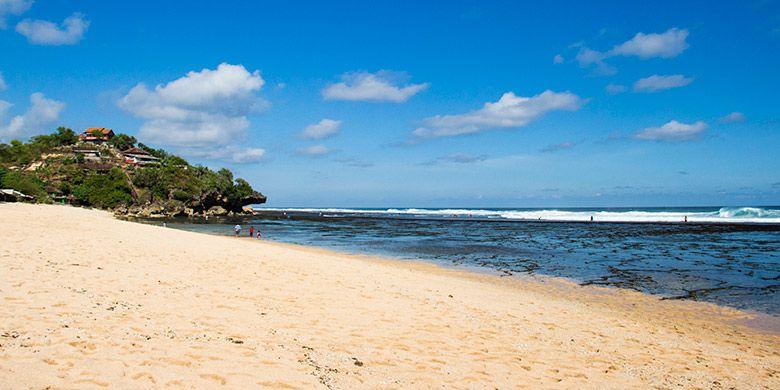 Pantai Pasir Putih di Jogja