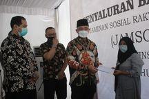 Bantu Gerakkan Perekonomian Nasional, Pemprov Banten Berikan Bansos Jamsosratu