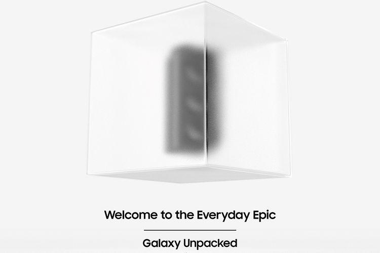 Ilustrasi pengumuman acara Galaxy Unpacked yang akan menjadi ajang perkenalan Galaxy S21