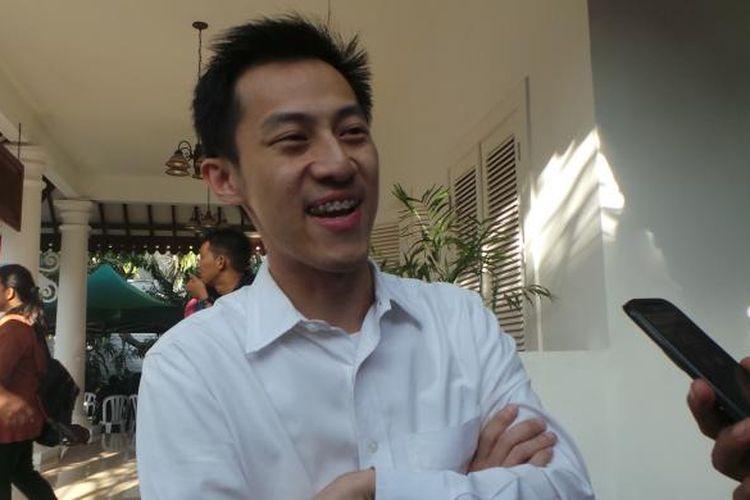 Pendiri situs forum komunitas Kaskus, Andrew Darwis.