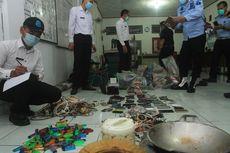 Lapas Merah Mata Palembang Digeledah, Ditemukan 40 Ponsel hingga Ratusan Senjata Tajam dari Sendok