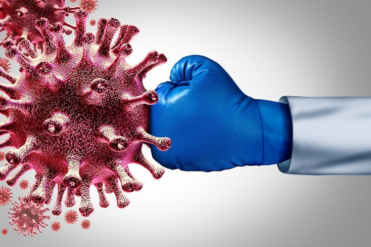 Ilustrasi virus corona(Shutterstock)