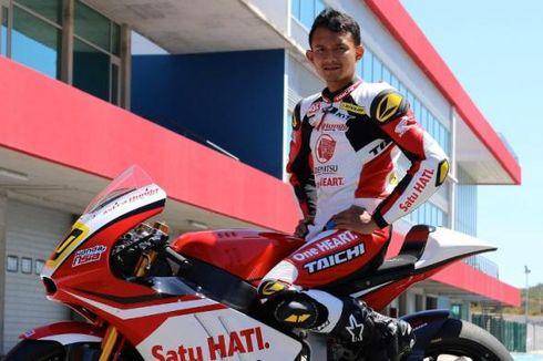 Pebalap AHM, Dimas Ekky, Siap Berkompetisi di Moto2 CEV Spanish