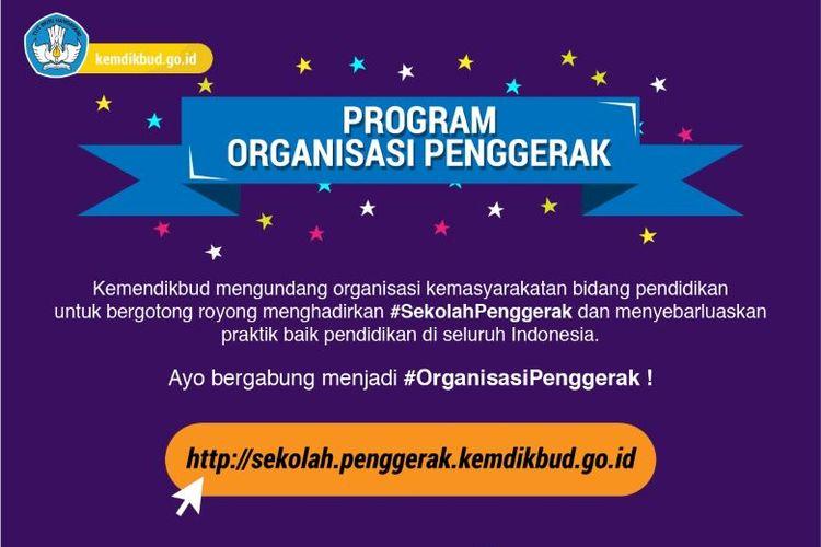 Program Organisasi Penggerak Kemendikbud