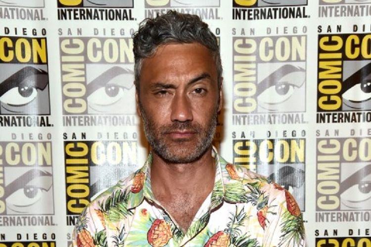 Sutradara Taika Waititi menghadiri presentasi film keluaran Marvel Studios, Thor: Ragnarok, pada acara Comic-Con International 2017 di San Diego Convention Center, San Diego, California, pada 22 Juli 2017.