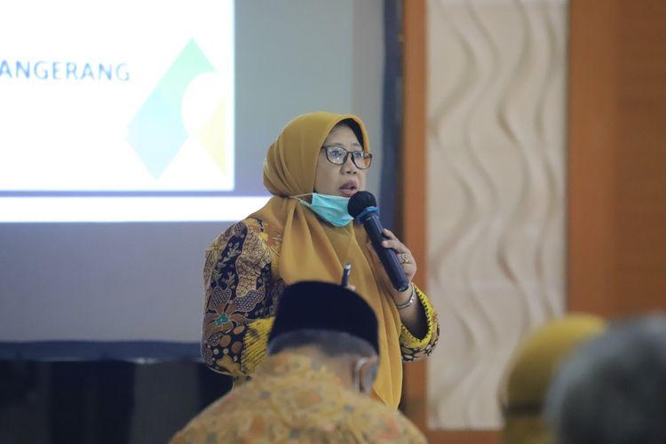 Kepala Dinas Pendidikan Kota Tangerang Masyati di Pusat Pemerintahan Kota Tangerang, Kamis (28/5/2020)