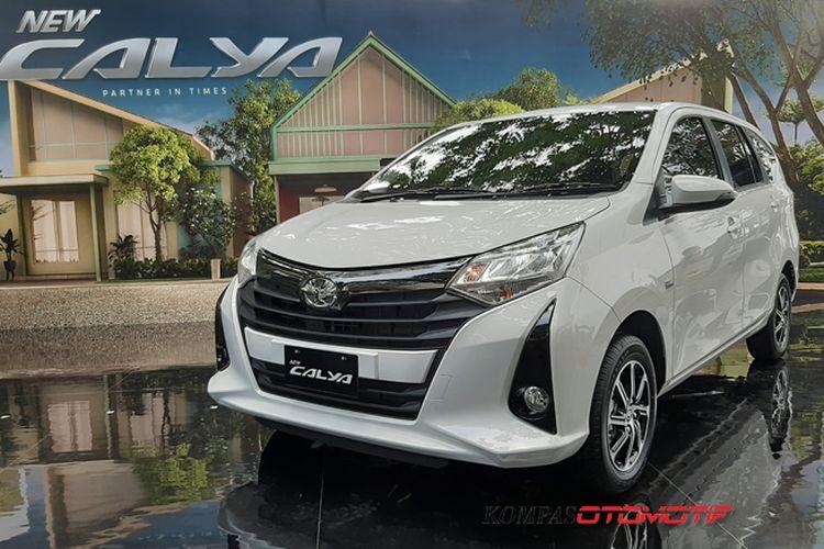 Toyota Calya Facelift 2019