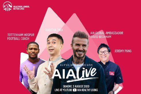 David Beckham akan Hadir di AIA Live, Berbagi Pengalaman Selama Pandemi dan Inspirasi Hidup Sehat