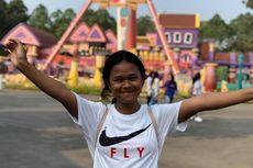 Bahagianya Dewi, Siswi SMP Penjual Bakpao, Saat Berlibur di Dufan Ancol