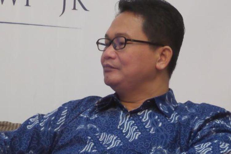 Peneliti Saiful Mujani Research and Consulting (SMRC) Sirojuddin Abbas.
