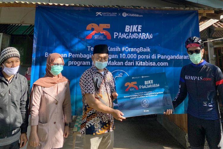 Donasi Pangan #MelihatHarapan Bike Pangandaran 2021