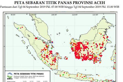 Terus Bertambah, BMKG Deteksi 2.510 Titik Panas di ASEAN