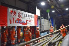 21 Pekerja Terjebak di Tambang Banjir di Xinjiang China