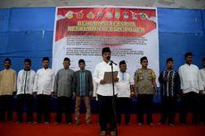 Bupati Buton dan Tokoh Masyarakat Deklarasi Tolak Ajakan
