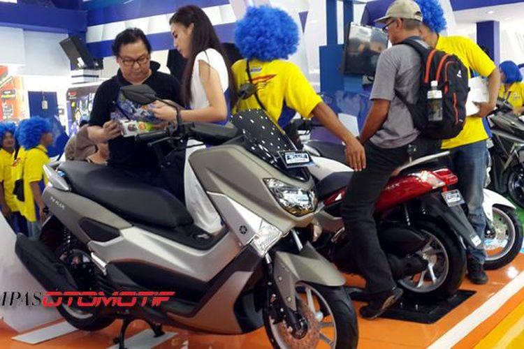 Yamaha NMAX benar-benar menjadi bintang pameran di Jakarta Fair Kemayoran 2016.