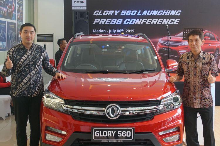 DFSK Glory 560 meluncur di Medan