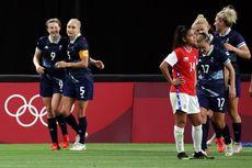 Hasil Britania Raya Vs Chile - Penyerang Man City Ellen White Borong Dua Gol Kemenangan