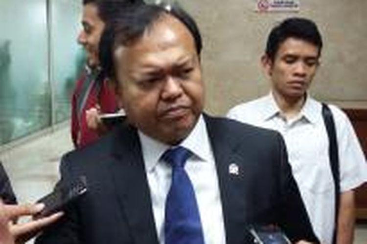 Sekretaris Jenderal Partai Nasdem Patrice Rio Capella, saat ditemui di Ruang Komisi III DPR, Senayan, Jakarta, Rabu (4/2/2015).