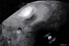 Resmi Sudah, Pesawat Antariksa Jepang Mendarat di Asteroid Ryugu