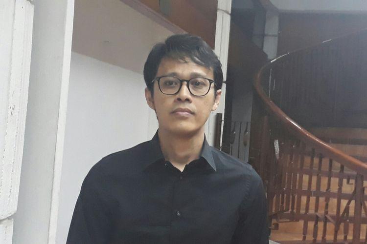 Tohpati ditemui usai acara Penganugerahan 20 Lagu Anak Dendang Kencana 2017, di Bentara Budaya Jakarta, Jakarta Pusat, Kamis (27/7/2017),