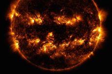 NASA Rilis Foto Matahari Sedang Rayakan Halloween