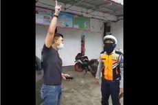 Diperiksa Polisi, Pria yang Bentak ke Petugas Saat PSBB Disebut Mengaku Khilaf