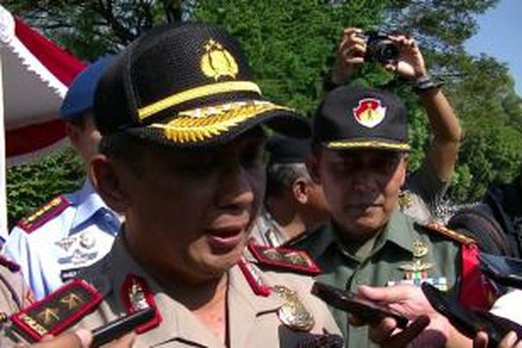 Kapolda Jawa Tengah Irjen Pol Nur Ali, Sabtu (6/6/2015).