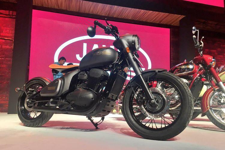 Mahindra memegang lisensi merek motor Jawa