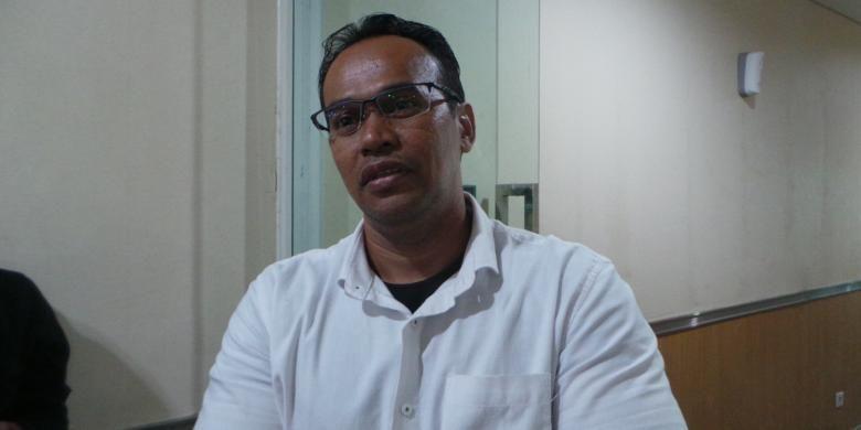 Sekretaris Fraksi Partai Gerindra DPRD DKI Jakarta, Fajar Sidik, di Gedung DPRD DKI Jakarta, Jumat (7/10/2016).