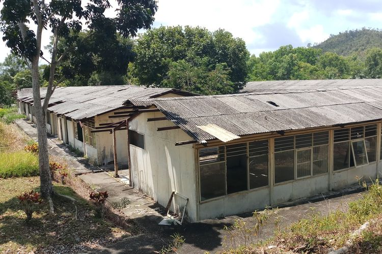 Rumah sakit eks camp pengungsi Vietnam di Pulau Galang, Batam, Kepulauan Riau (Kepri), Rabu (4/3/2020).