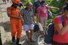 Gelombang Tinggi, BPBD Sitaro Gagal Merapat ke Desa Batubulan
