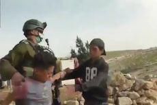 Video Militer Israel Tangkap Anak-anak Palestina yang Cari Sayuran di Dekat Pemukiman Ilegal Yahudi