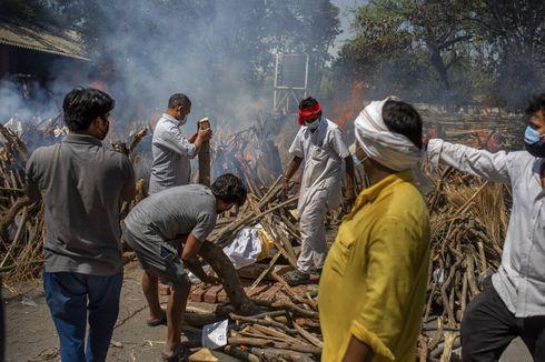 117 Kematian Korban Covid-19 Per Jam, India Tebang Pohon-pohon di Taman Kota untuk Kremasi