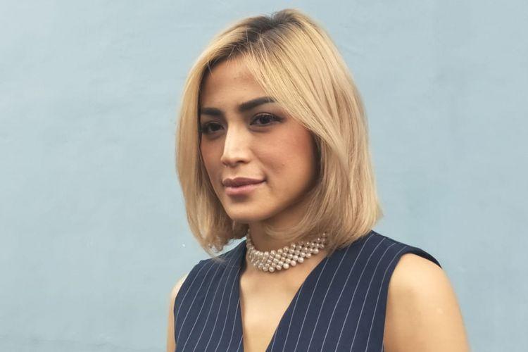 Jessica Iskandar ditemui dalam sebuah acara di bilangan Jalan Kapten Tendean, Jakarta Selatan, Senin (3/9/2018).