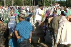 Ribuan Warga Pinrang Antre Masuk Kuburan, Kemacetan Mengular