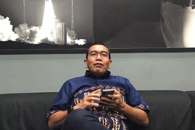 Staf Khusus Menteri BUMN Arya Sinulingga di kantornya, Jakarta, Senin (16/12/2019).